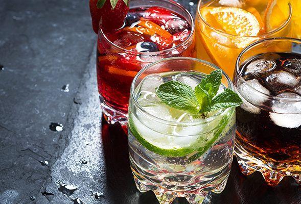 Слабоалкогольные напитки и алкоголизма