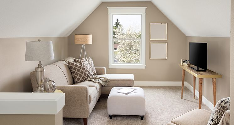 7 Paint Colors to Make Any Small Space Feel Bigger - The Home ... on ways to make a vaulted ceiling bedroom appear bigger, ideas to make room bigger, make small bathroom look bigger, make the most out of a small bedroom,